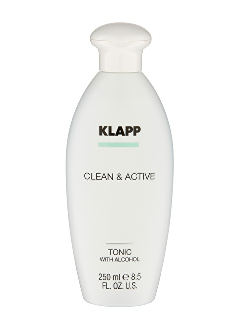 Klapp Clean&Active Tonic Without Alcohol Gel 250 Ml Renksiz